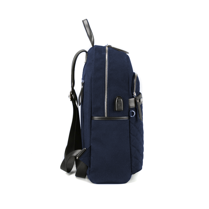 "Mochila Porta Notebook de 13,3"" Lady in Blue"
